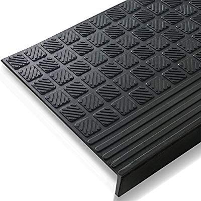 Best Indoor Outdoor Bullnose Rubber Non Slip Stair Treads 26 400 x 300