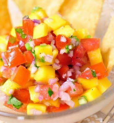 A flavor of international food mango salsa gluten free cooking a flavor of international food mango salsa forumfinder Choice Image