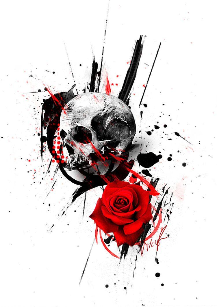#trashpolka - DeviantArt … | Ideias de tattoos | Pinterest