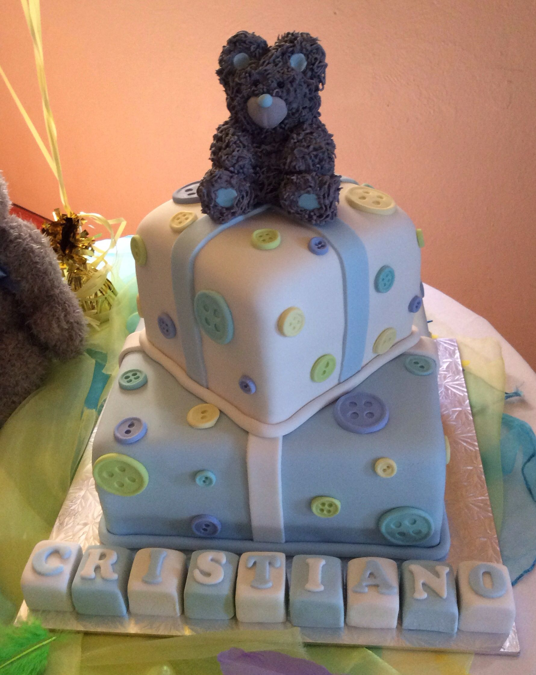 tatty teddy baby shower cake kelly s creations cakes pinterest