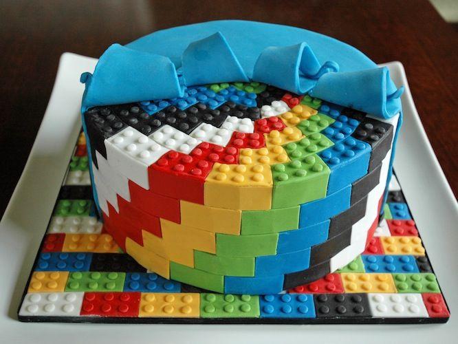 Lego Birthday Cake Google Search Jasper Birthday Pinterest - Lego birthday cake pictures
