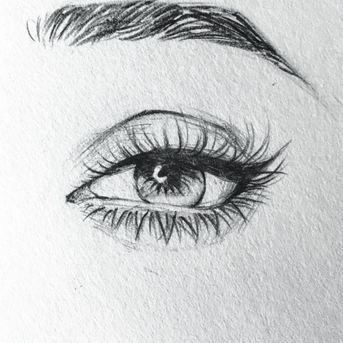 ▷ 1001 + ideas and inspiration on how to draw eye
