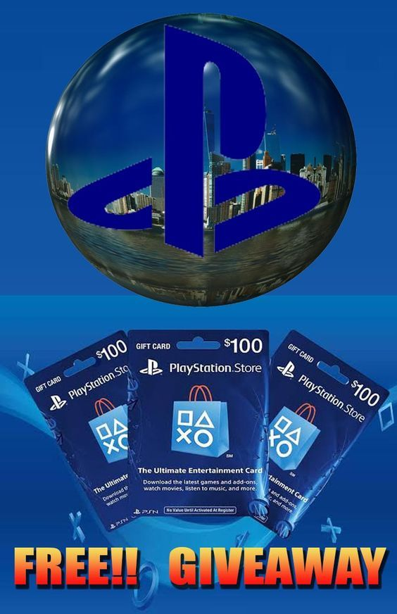 Photo of FREE $100 #PLAYSTATION GIFT CARD GIVEAWAY!