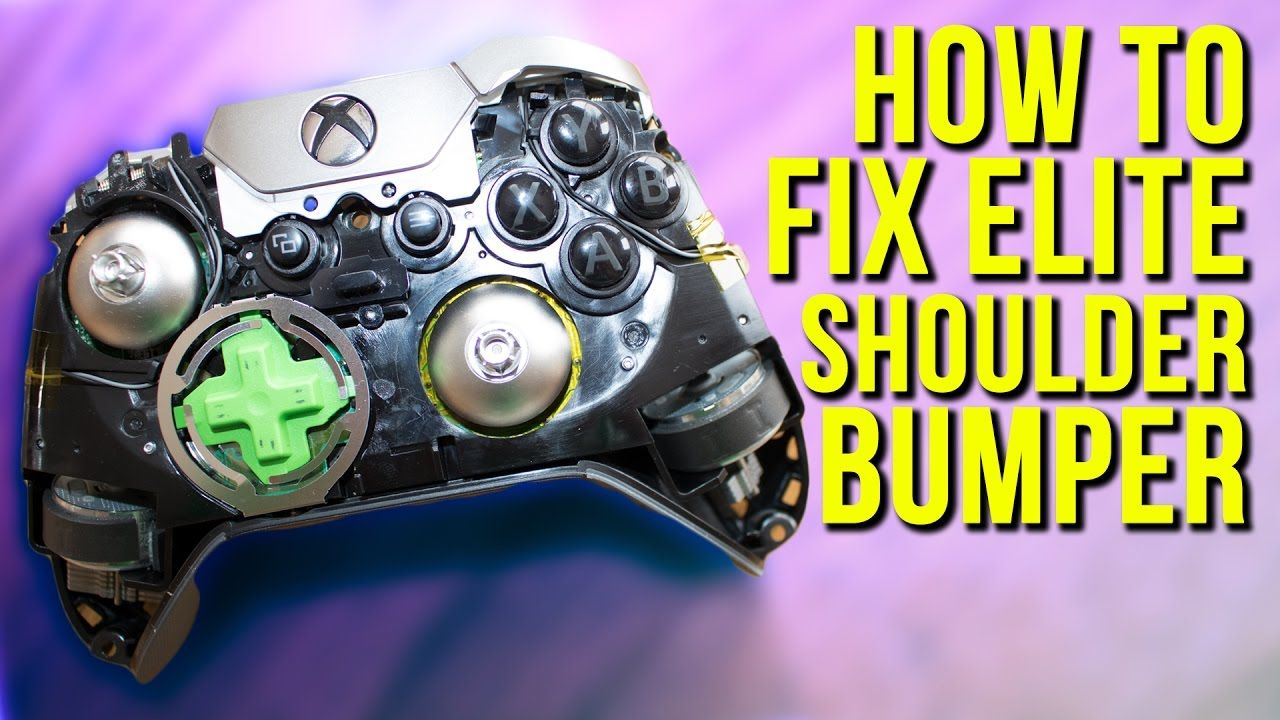 How to fix shoulder bumper on xbox one elite controller