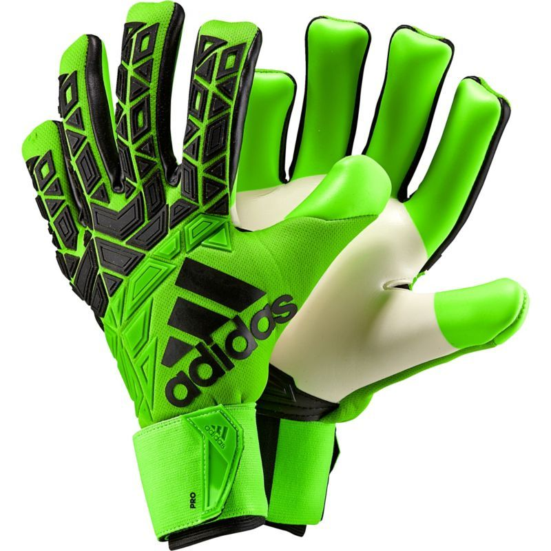 7205a9531 adidas Ace Trans Pro Soccer Goalkeeper Gloves, Green | Products ...
