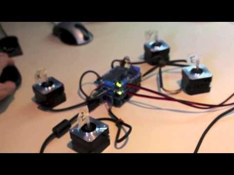 Lets Make A 4 Axis Cnc Gcode Interpreter For Arduino You