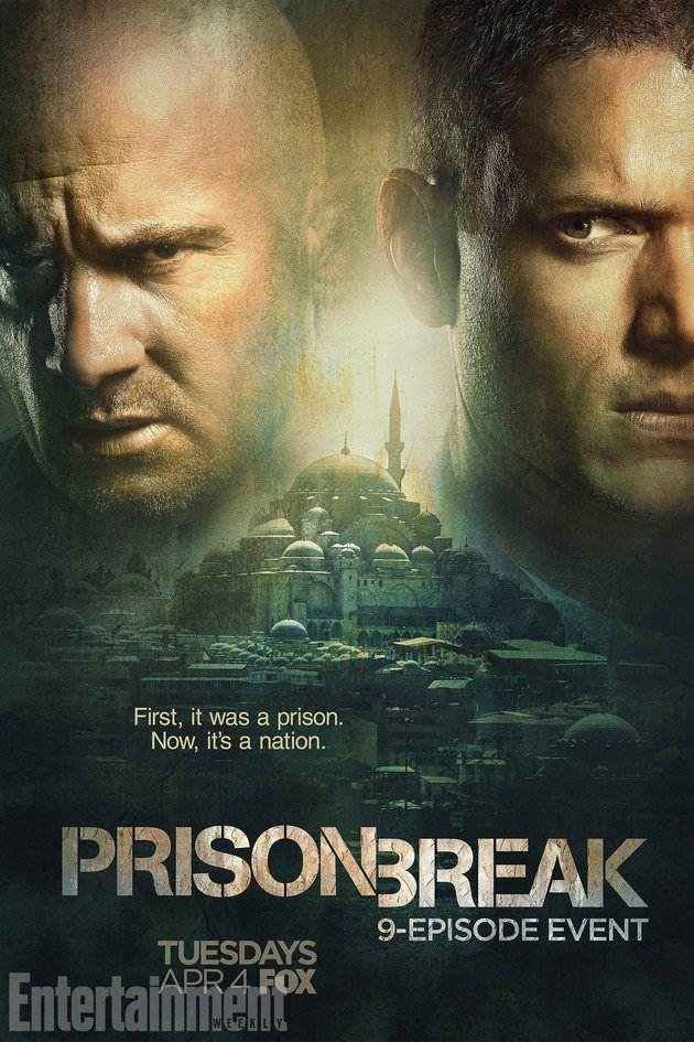 Prison Break Poster Do Revival Da Serie Traz Michael Scofield E