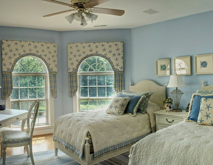 Bedroom - Blue and White For the Home Pinterest Bedrooms