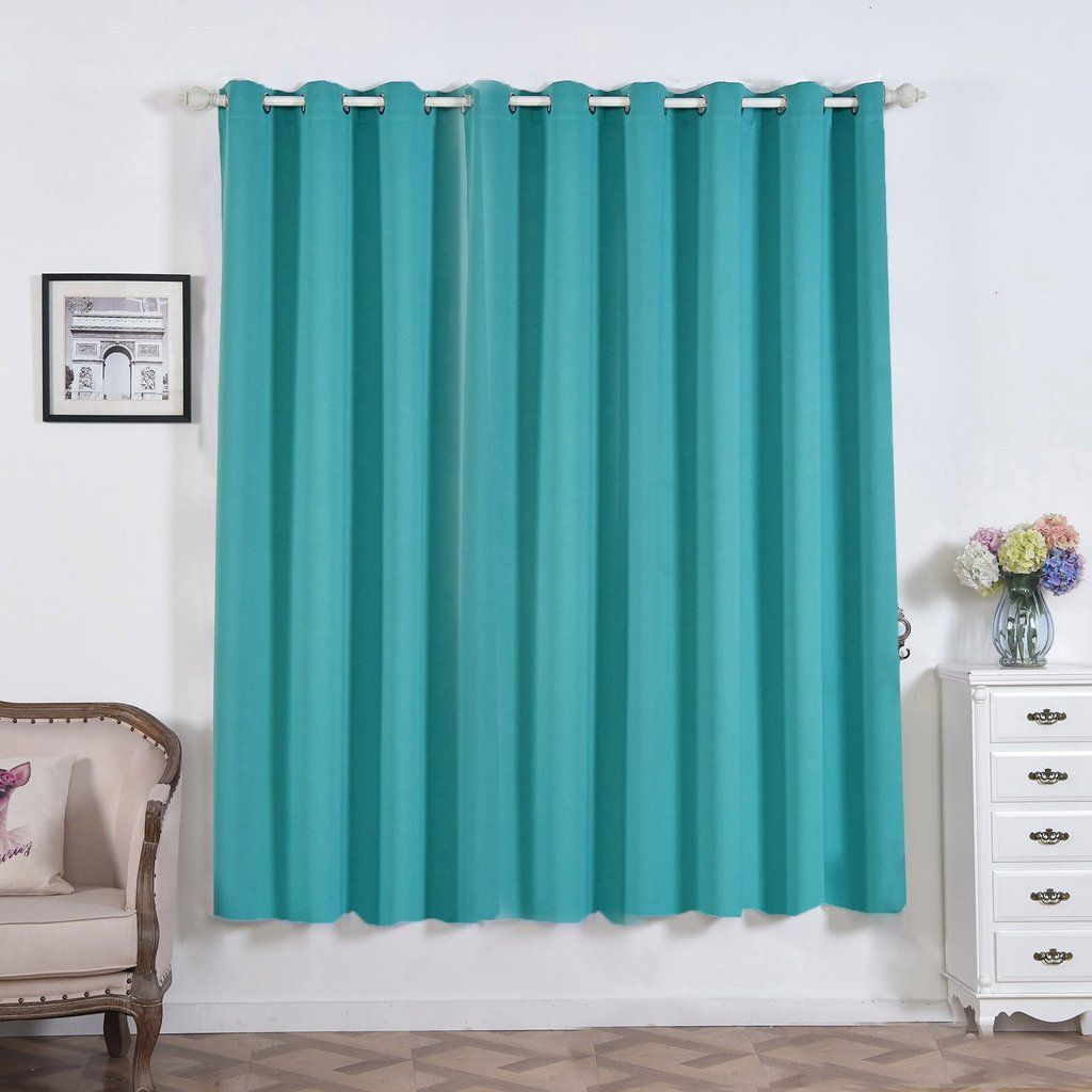 If You Are Looking To Make Your Decor Less Formal Feel Free To Checkout Our Collection Of Polyest Grommet Curtains Turquoise Curtains Grommet Window Treatments