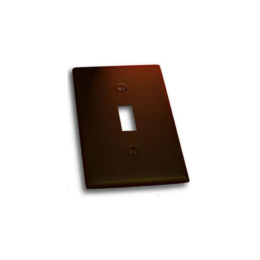 Residential Essentials 10813VB Single Toggle Switch Plate, Venetian Bronze Residential Essentials Residential Essentials 10813VB Single Toggle Switch Plate, Venetian Bronze | RDES345