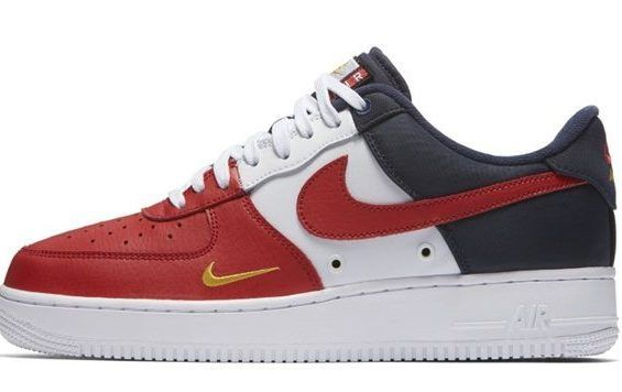 6a80a48d0571 This New Nike Air Force 1 Low Rocks Mini Swoosh Branding