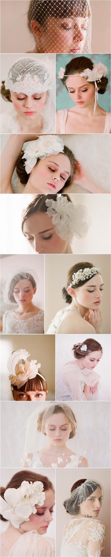 Modern Bride head pieces