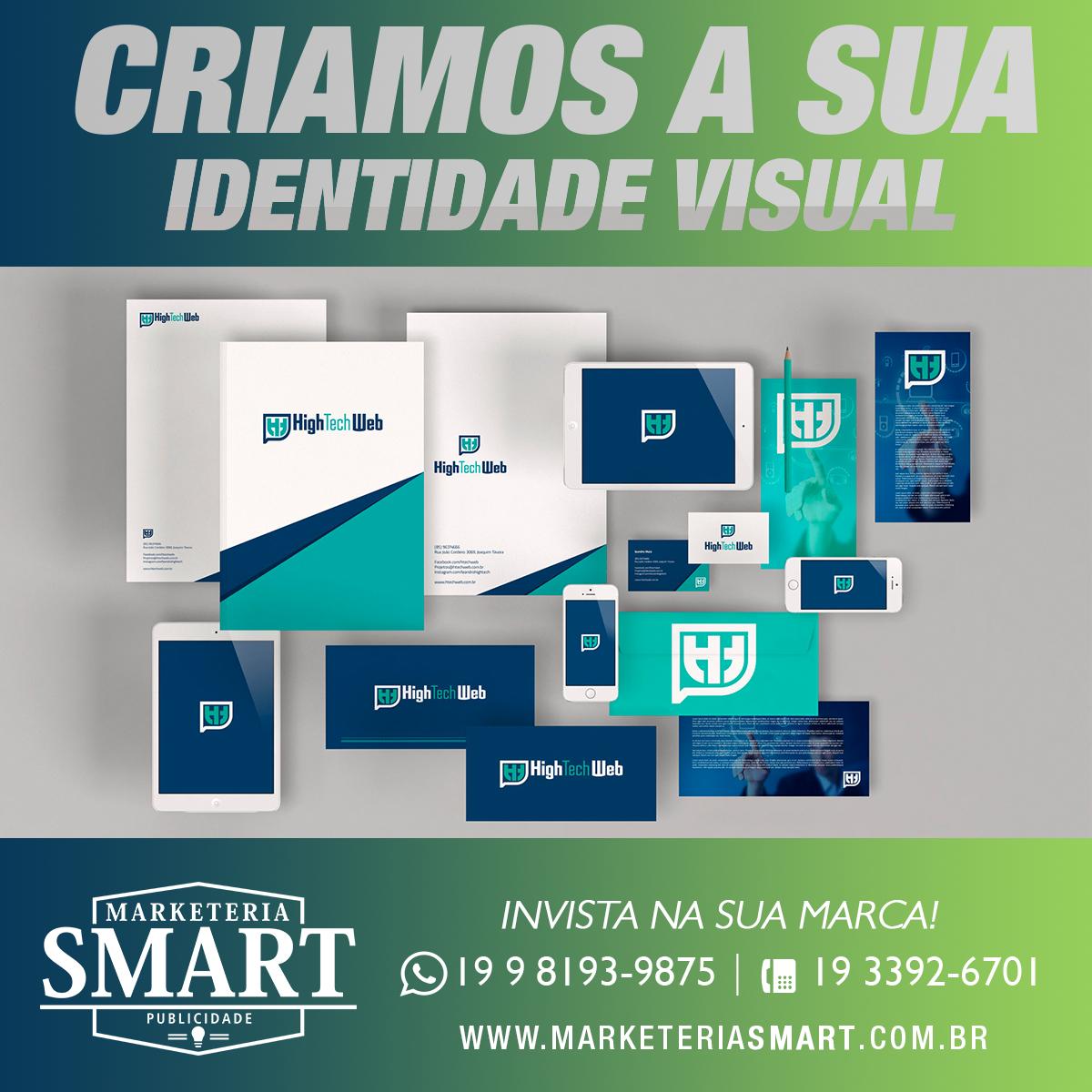 A indentidade Visual de uma empresa fortalece o relacionamento com seus clientes e estabelece sua marca no mercado! #invistanasuamarca