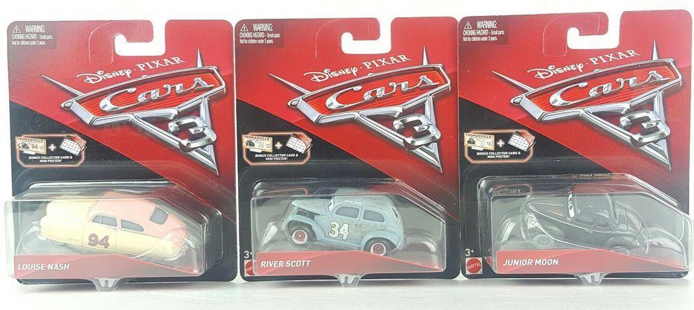 New Disney Pixar Cars 3 Junior Moon River Scott Louise Nash Kids