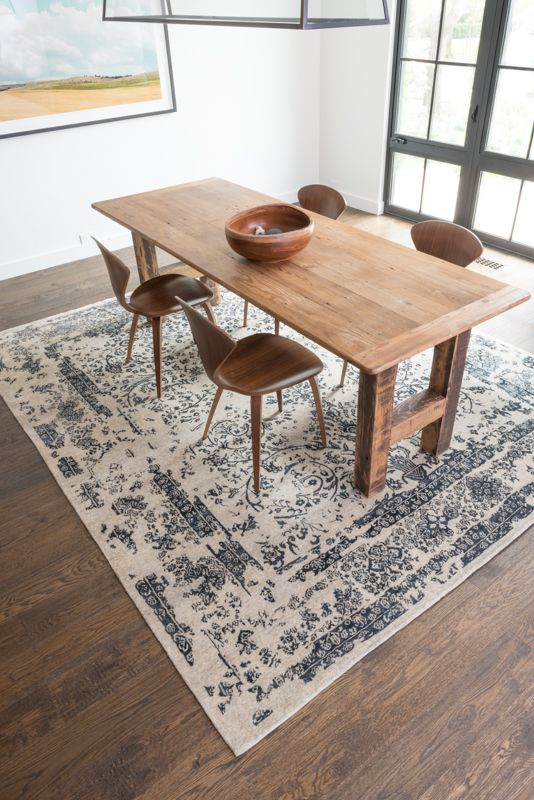 Currently Craving Statement Rugs For Every Space  Room Navy Rug Captivating Dining Room Carpet Size Decorating Design