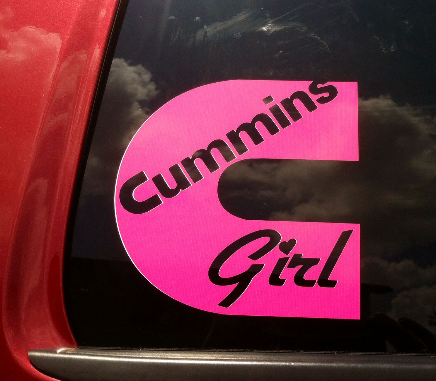 Cummins girl! Another new sticker for my Cummins  | ❥Trucks