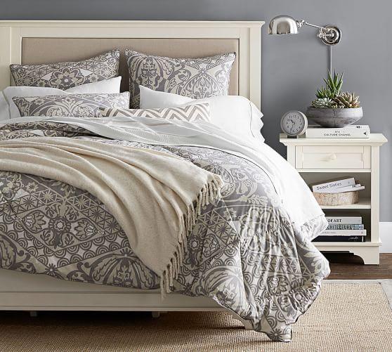 pottery barn king comforter Owen Comforter & Sham | BEDDING | Comforters, Bedroom, Bed pottery barn king comforter