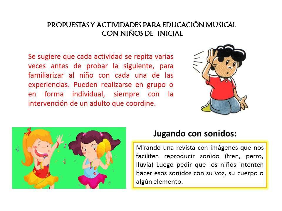 Propuestas Y Actividades Para Educación Musical Jugando Con Sonidos Para Niños De 3 5 Años Family Guy Comics Fictional Characters