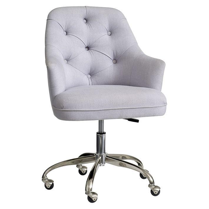 Beau Pottery Barn Teen Tufted Desk Chair