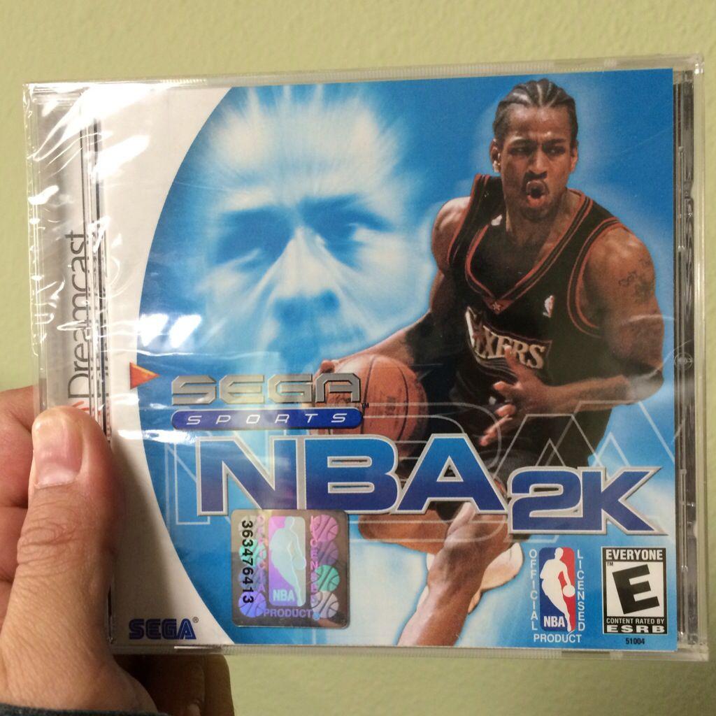 NBA 2K for Dreamcast. Sega game consoles, Sega dreamcast