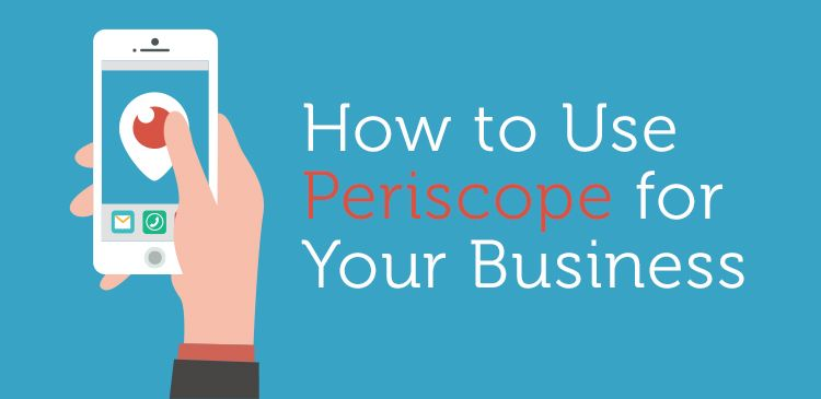 Learn how you can use #Periscope for your #Business! #SMM #SocialMedia