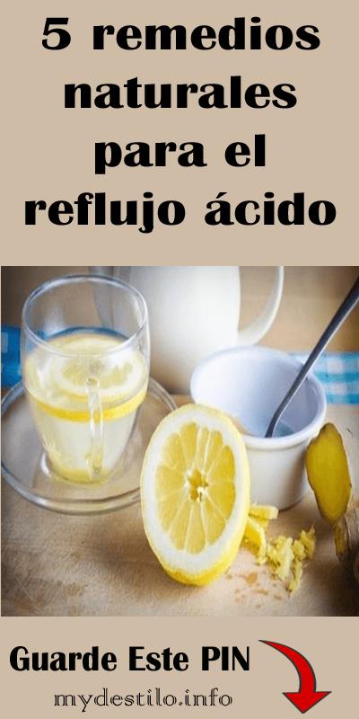 medicina natural para el reflujo en adultos