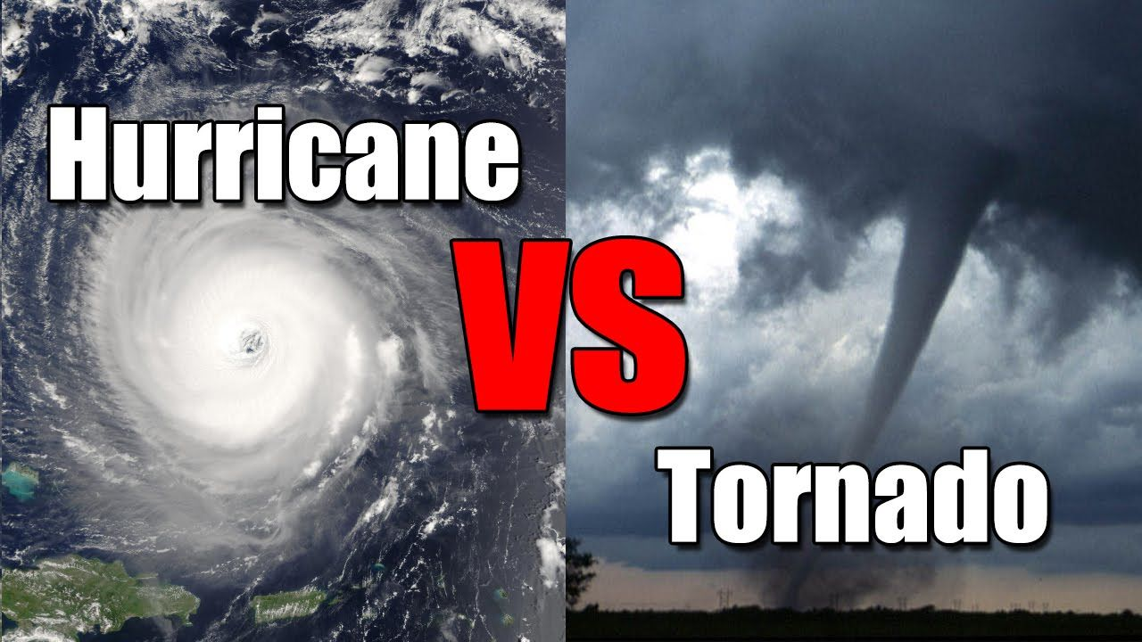Hurricane vs. Tornado: What's the difference? | Science ...
