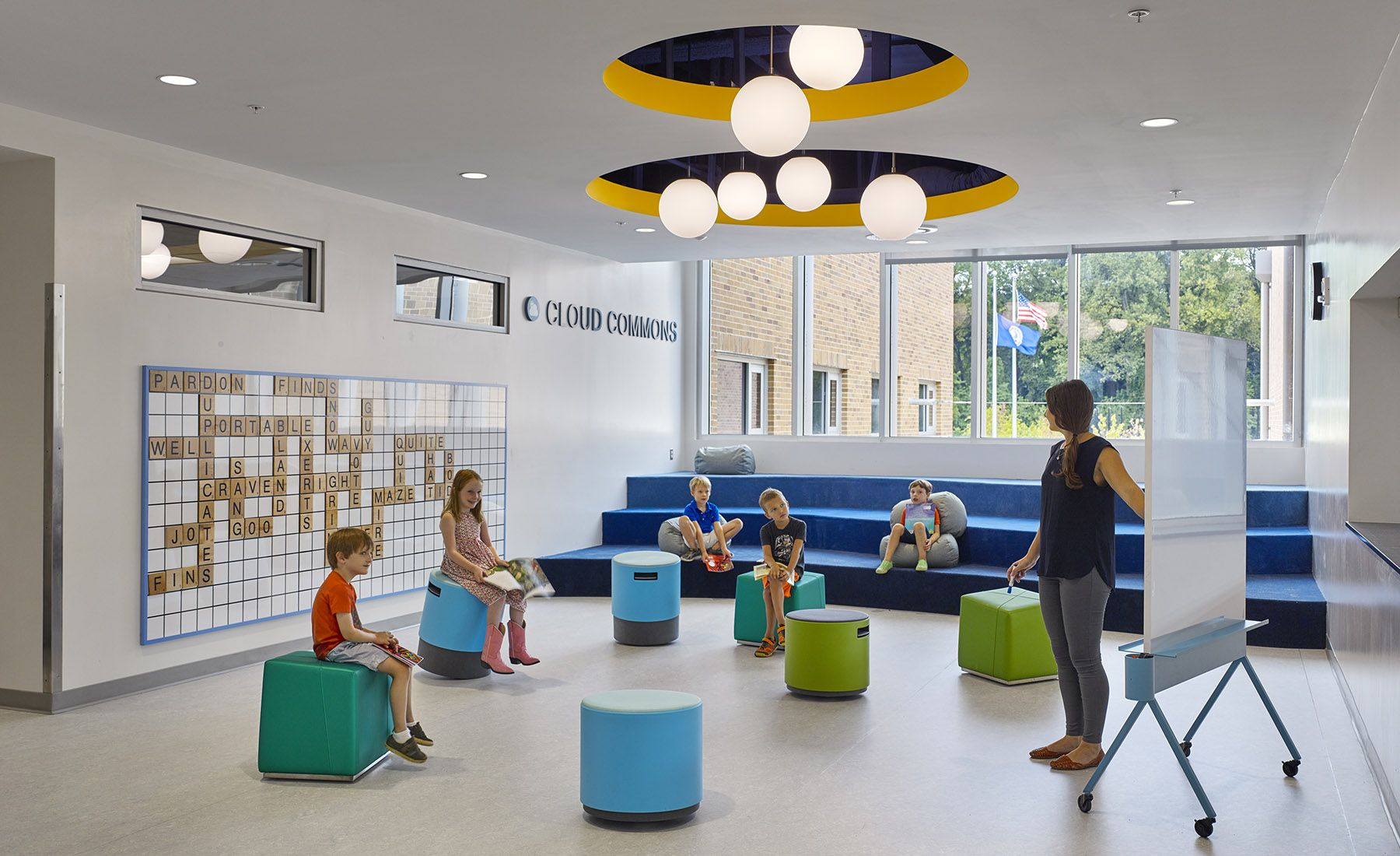 Discovery Elementary School K 12 Architecture And Sustainable Design Schools Pinterest