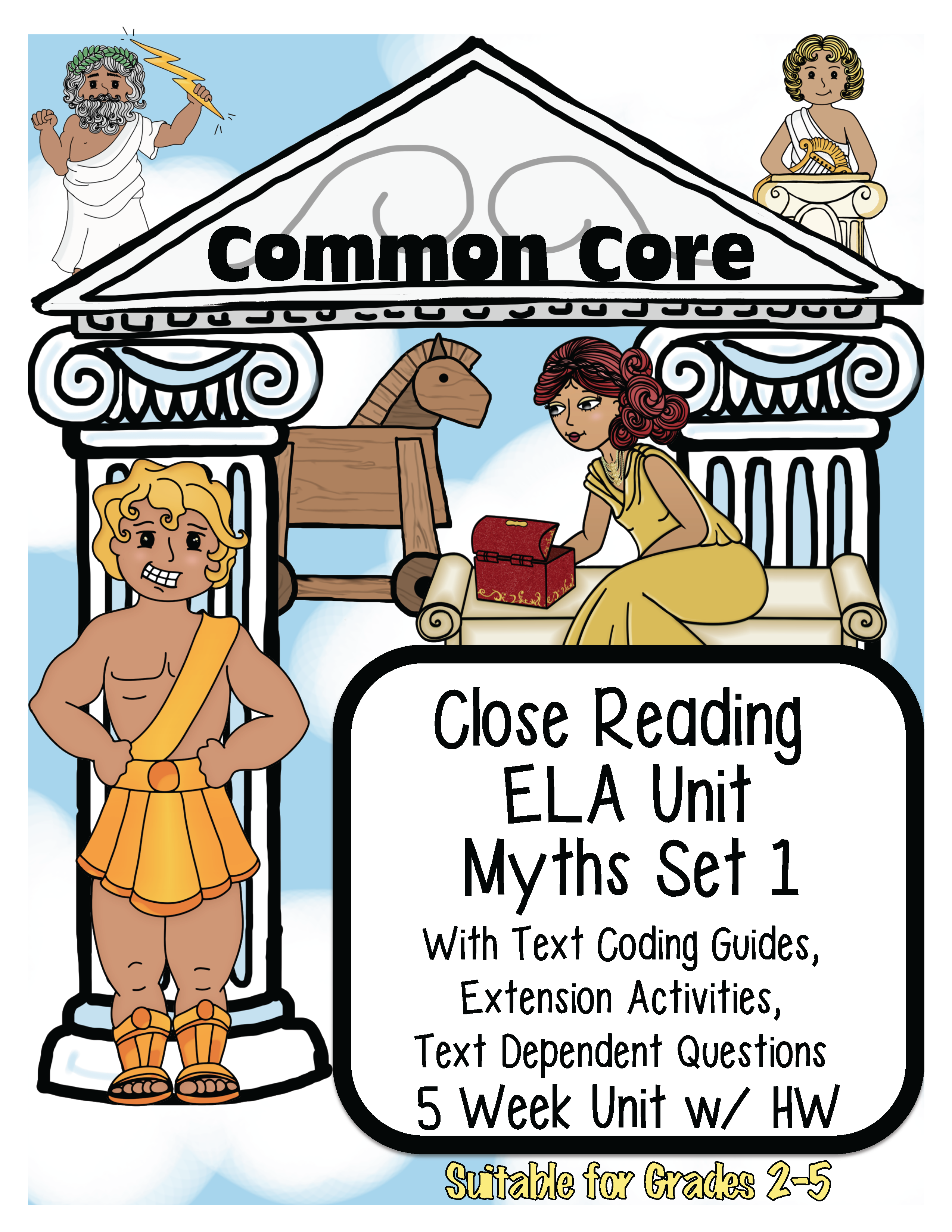 5 Passages Each With Text Coding Guides For Close Reading Vocabulary Cards For Each Story And