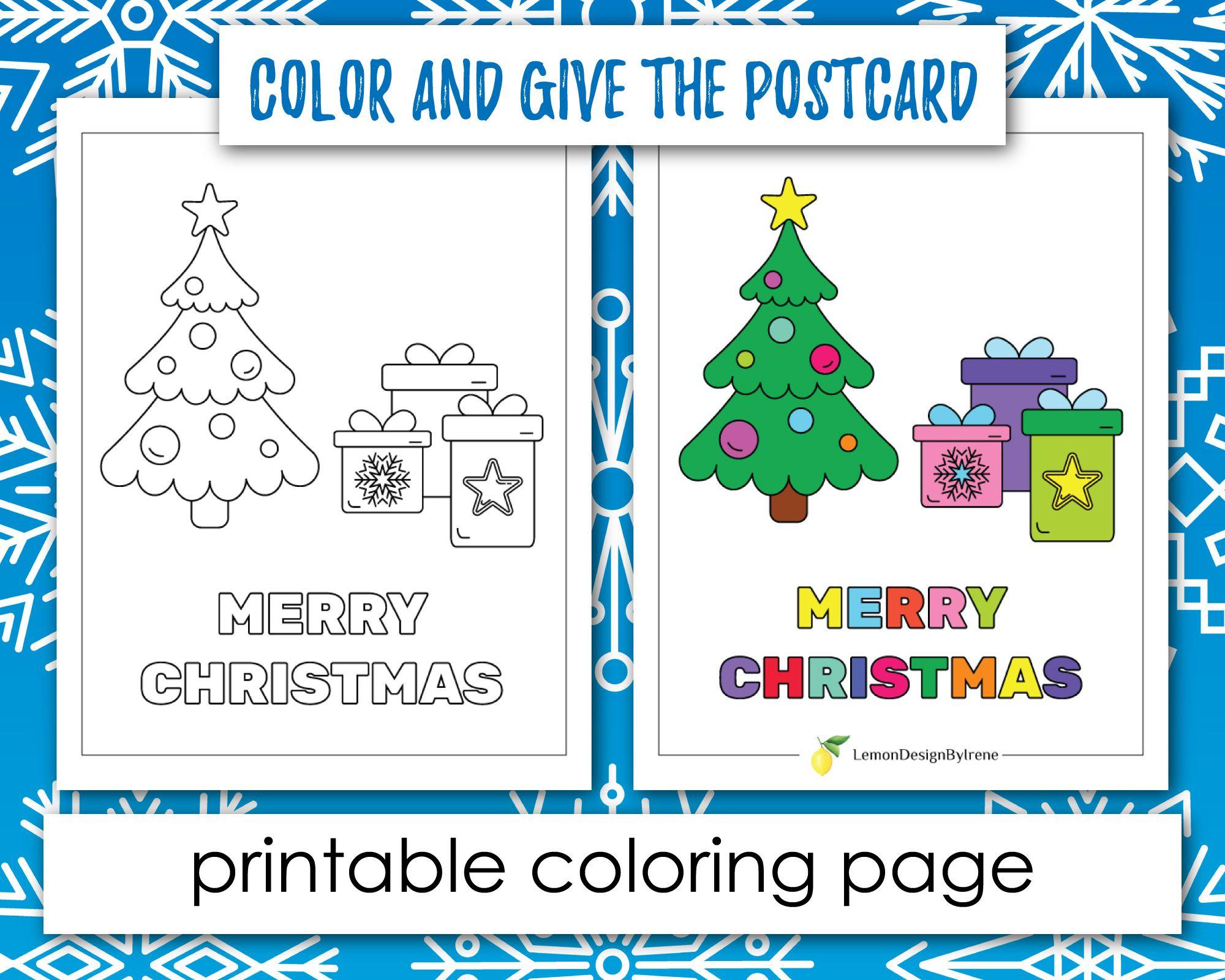 10 Free Printable Colouring Xmas Cards Christmas Coloring Cards Free Christmas Coloring Pages Christmas Coloring Sheets