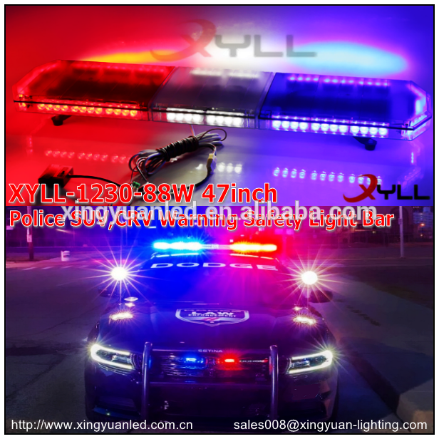 Ambulance police led light bar 12v 24v 47 inch roof rotating ambulance police led light bar 12v 24v 47 inch roof rotating flashing light bar waterproof aloadofball Choice Image
