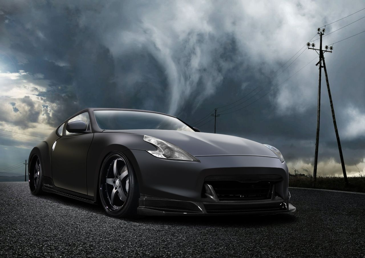 Imperio Nissan Garden Grove >> 370Z matte black | Cars