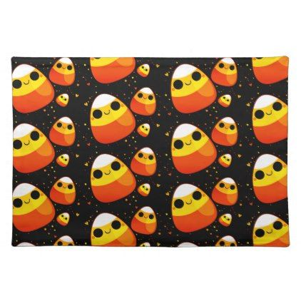 #Halloween Placemat-Candy Corn Placemat - #Halloween #happyhalloween #festival #party #holiday