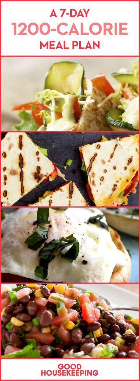 Photo of Ein 7-tägiger 1.200-Kalorien-Speiseplan – #1200KalorienSpeiseplan #7tägiger #e…