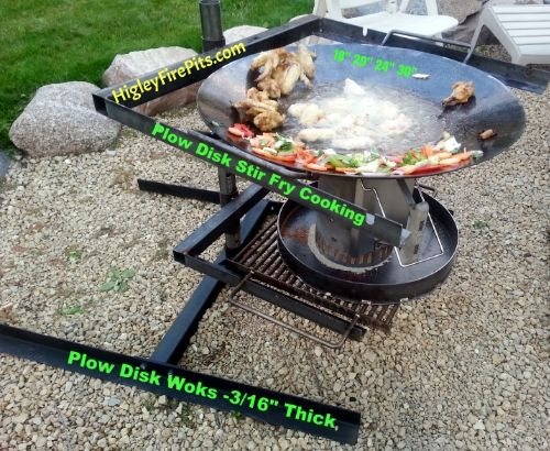 Portable Plow Disk Wok Stand You Can Use The With Gas Wood Charcoal