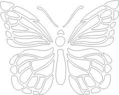Image result for butterfly stencil template   Recycled art ...