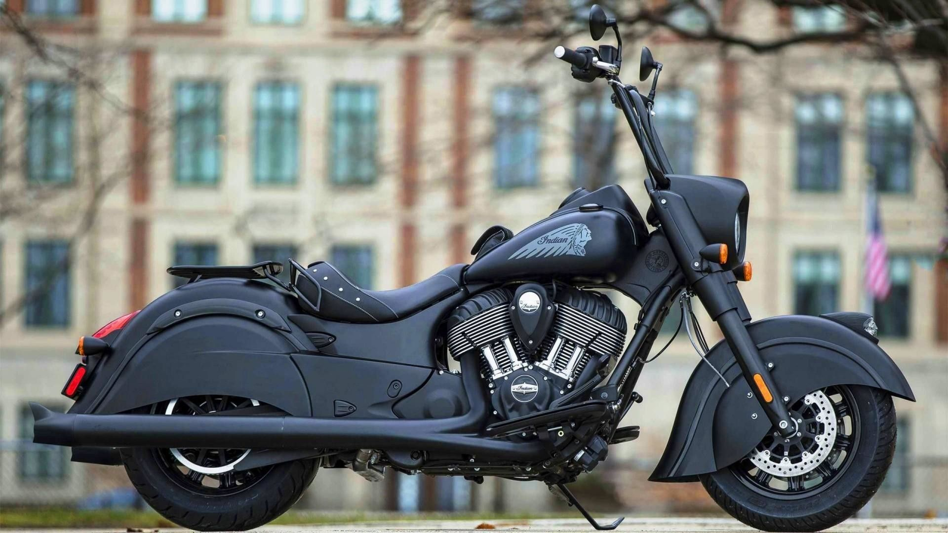 Res 1920x1080 Indian Dark Horse Motorcycle Wallpaper Bobber