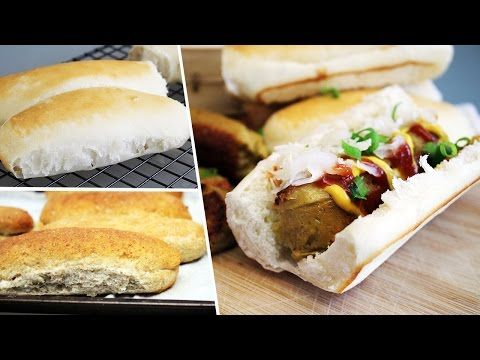 Simple Homemade Hot Dog Buns Mary S Test Kitchen Hot Dog Buns Homemade Hot Dog Buns Homemade Hot Dogs