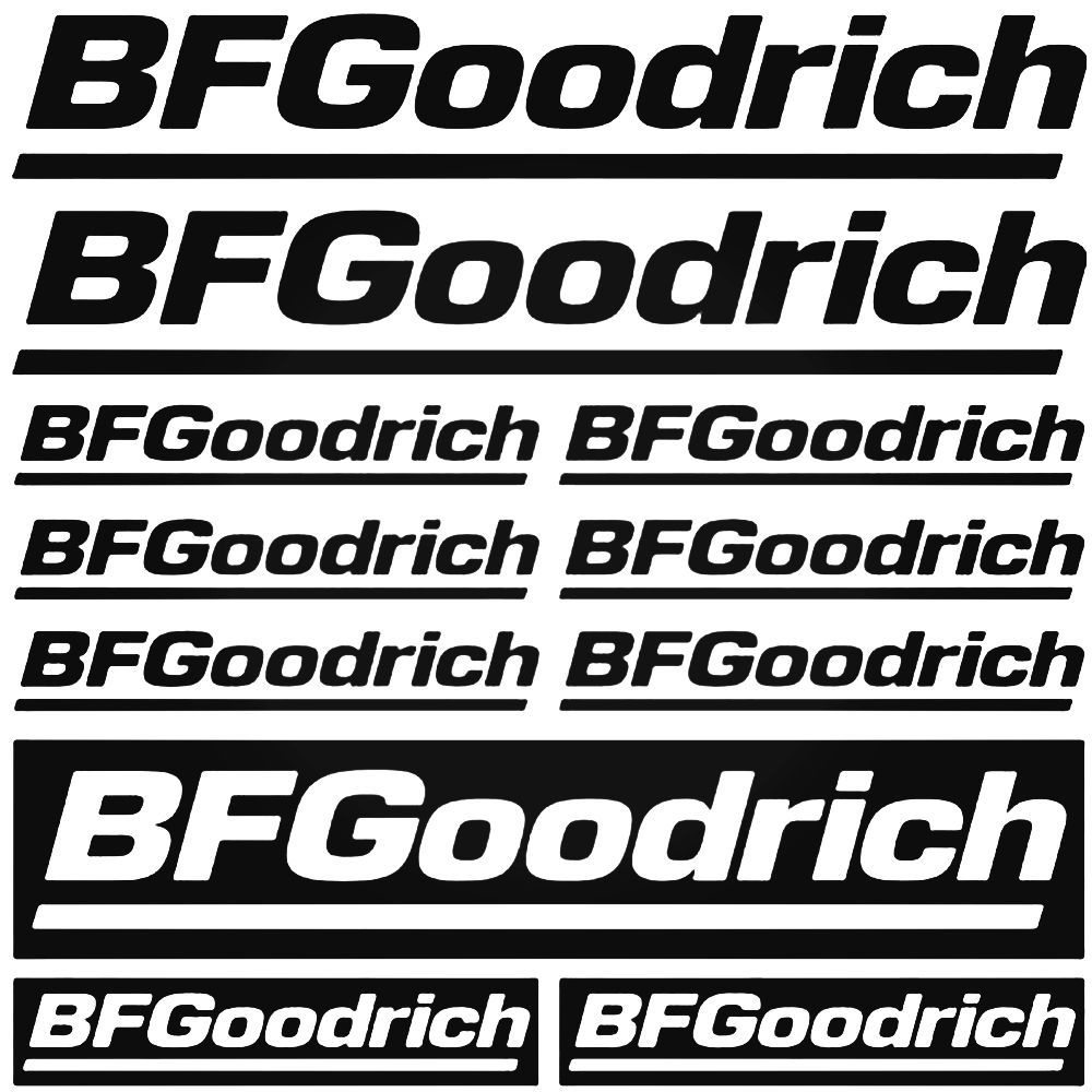 Bf Goodrich Graphic Kit Decal Sticker Cycle stickers