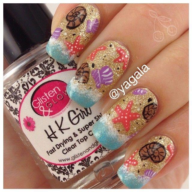 yagala beach #nail #nails #nailart | nail places | Pinterest | Nail ...