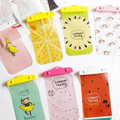 hot sale online 56f2b 34463 Cute Waterproof Cell Phone Pouch Underwater Dry Bag Case Cover For ...