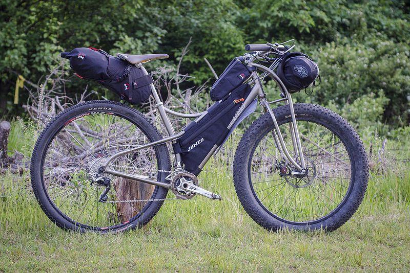 Jones SpaceFrame in Bikepacking Mode | Two wheels - no motor