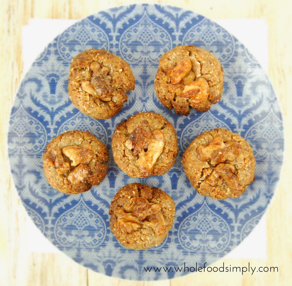 Date and walnut cookies whole food recipes whole foods