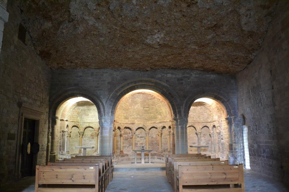Iglesia Alta Monasterio de San Juan de la Peña Huesca