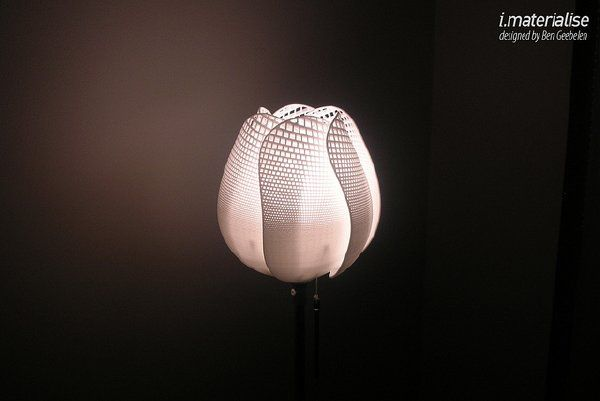 3ders Org Huddle Stylish 3d Printed Lamp Features A Miniature Cityscape 3d Printing News Prints 3d Printing Art Lamp