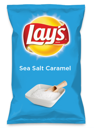 Wouldn't Sea Salt Caramel be yummy as a chip? Lay's Do Us A Flavor is back, and the search is on for the yummiest flavor idea. Create a flavor, choose a chip and you could win $1 million! https://www.dousaflavor.com See Rules.