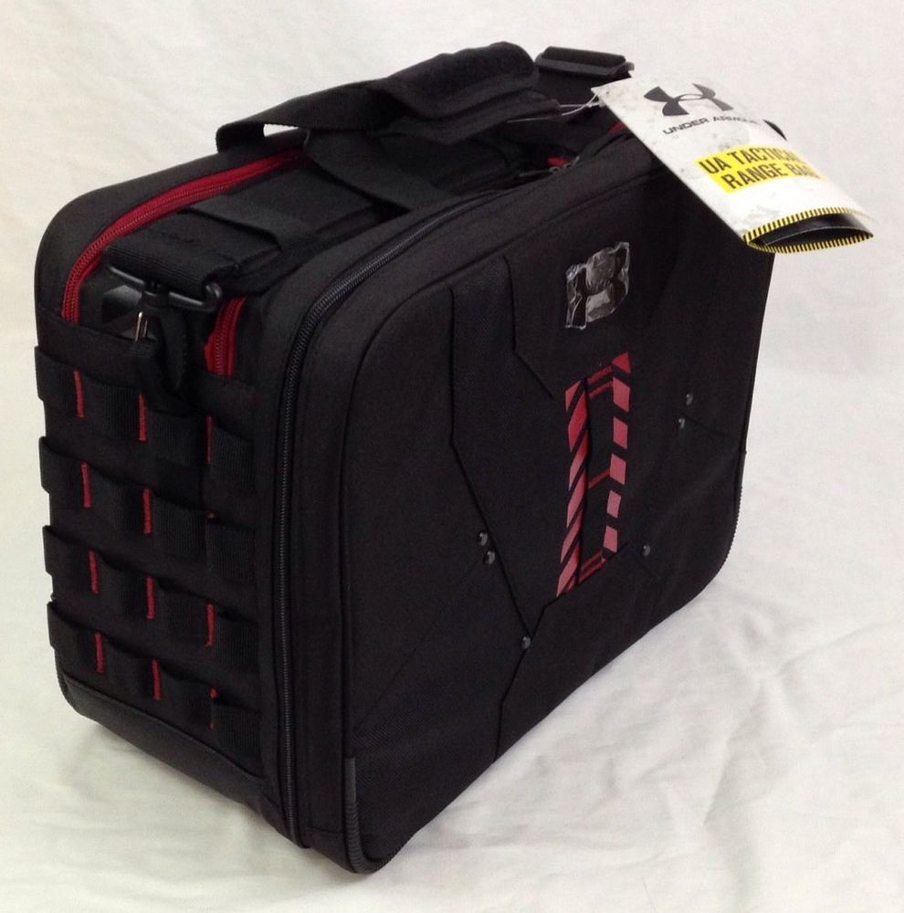 4882044042a Under Armour UA Tactical Range Bag Ammo Tote Ballistic Black Shelf 1242673  NWT #UnderArmour #UA #Rangebag #Outdoors #Outdoorlife #Ebay #EbaySeller ...