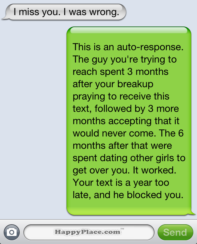 15 brutally honest text message auto-replies that would