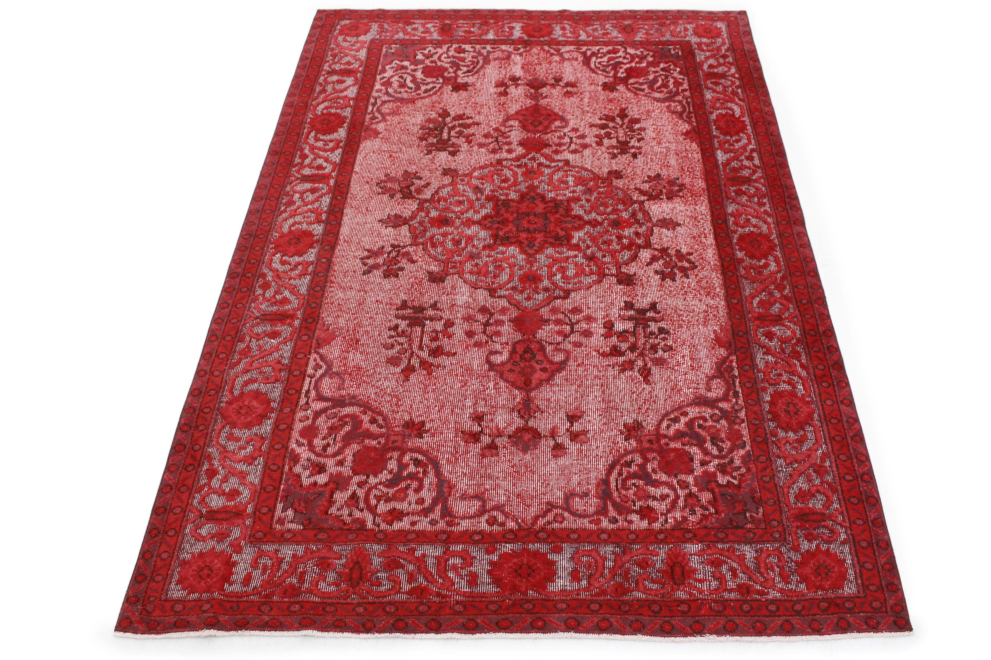 Vintage Teppich 3d Look Rot In 300x190 Vintage Teppiche Teppich Wandteppich