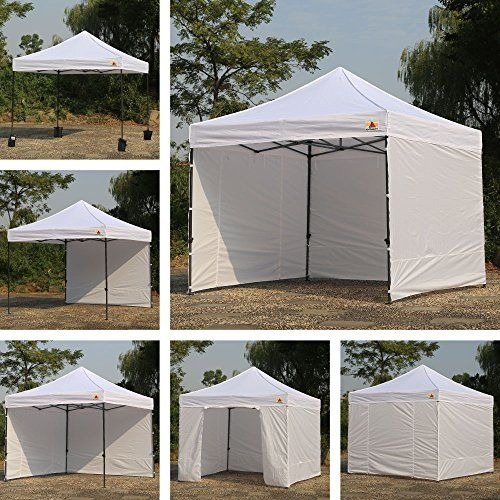 AbcCanopy 8 X 8 Ez Pop up Canopy Tent Commercial Instant